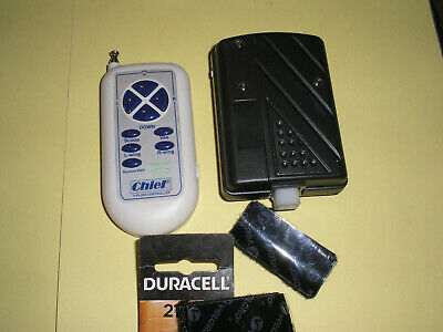 NEW !! ChieF WIRELESS plow controller for western MVP Plus Fisher Xtreme V 4 pin