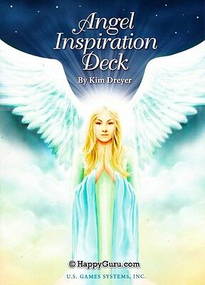 """angel Inspiration Deck"" By Kim Dyer (Oracle Deck) (Angel)"