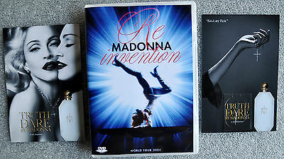 MADONNA Re-Invention DVD Lisbon Invention LIVE + Truth or Dare ( rebel heart