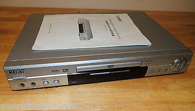 Coby DVD505 5.1 Surround Sound Home Theater DVD Player w/ Karaoke input manual