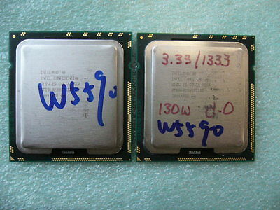 QTY 1x INTEL Quad-Cores Xeon ES CPU W5590 3.33GHZ/8MB LGA1366