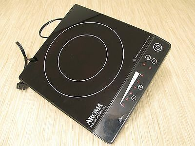 Aroma Induction Cook-Top Single Burner AID-509 Black Hot-Plate Automatic Timer