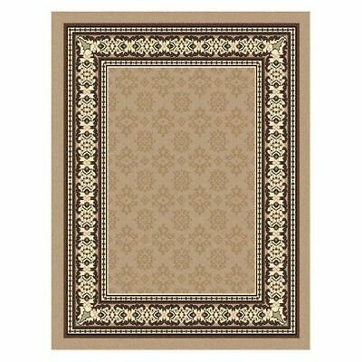 NEW Saray Rugs Iconography Oriental Rug in Beige, Black, Brown, Grey, Red