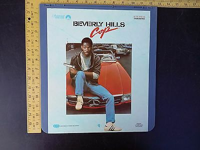 Beverly Hills Cop Movie CED Capacitance Electronic Disc Murphy VideoDisc 1984