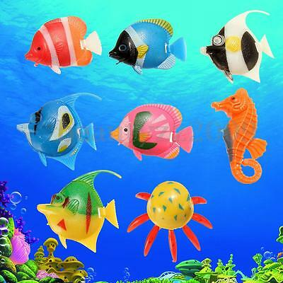 8PCS Wind up Swimming Fish Animal Toy For Kids Baby Children Pool Bath Toy Time