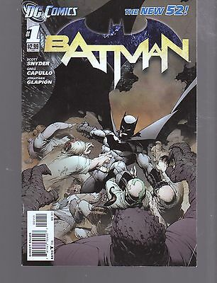 Batman  1  1St Print    New 52  Scott Snyder  Dc Comics