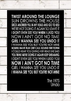The 1975 lyrics pink neon sign quote wall art light frame white home undo the 1975 word typography words song lyric lyrics music wall publicscrutiny Choice Image
