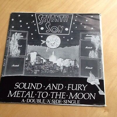 Seventh Son / Metal To The Moon - Sound And Fury