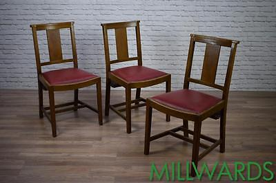 Vintage Oak Church Chapel Cafe Bar Rastaurant Dining Kitchen Chairs 60 AVAILABLE