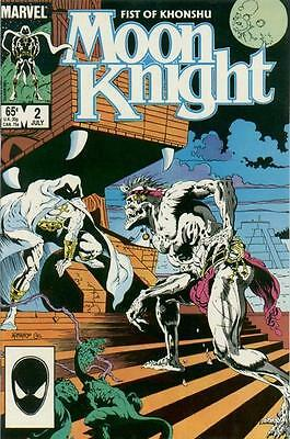 Moon Knight #2 (Jul 1985, Marvel)