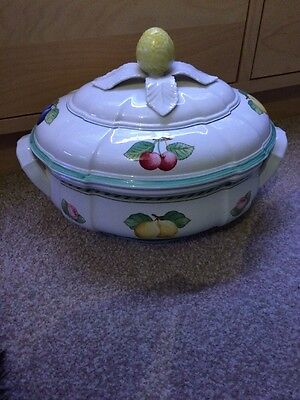 Villeroy & Boch French Garden Fleurence Large Oval Tureen And Lid