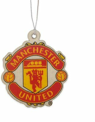 official manchester united football club car airfreshner man utd mufc red devils