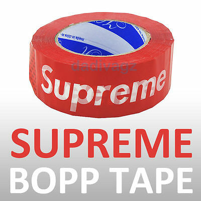 Red Supreme Adhesive BOPP Packaging Tape 180g