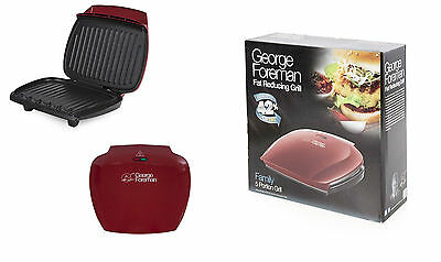 George Foreman Fat Reducing Grill Family 5 portion 18872