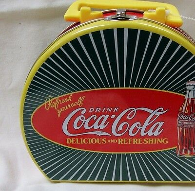USED Vintage  Coca Cola Small Lunchbox Tin