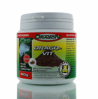 Drago Vit Multivitamin + Beta Carotin - Menge: 80g