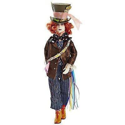"""Alice Through the Looking Glass 11.5"""" Deluxe Mad Hatter Collector Doll"""