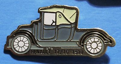 Renault (1910) - Antique Car - Old Car - Lapel Pin - Hat Pin