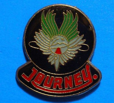 Journey - Rock Music Band - Music Group - Evolution - Vintage 1980's Lapel Pin