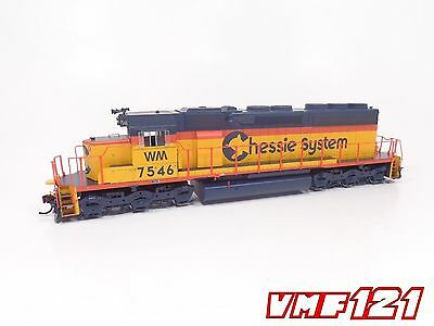 HO Chessie System WM SD40 Locomotive #7548  DCC Ready - Athearn #98710