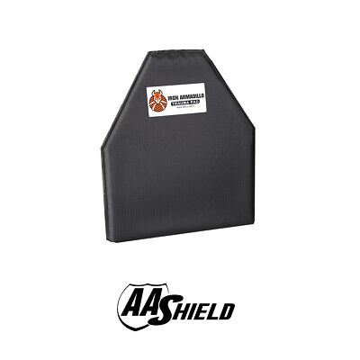 "AA Shield Body Armor Blunt Force Trauma Pad Soft NON-BALLISTIC Plate 10""X12"""