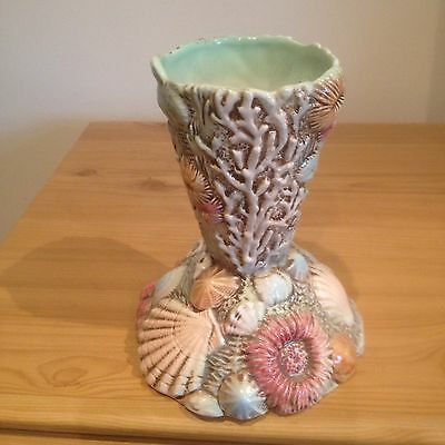 RARE BESWICK SEA LIFE STARFISH SHELLS  RARE VASE Antique 2020