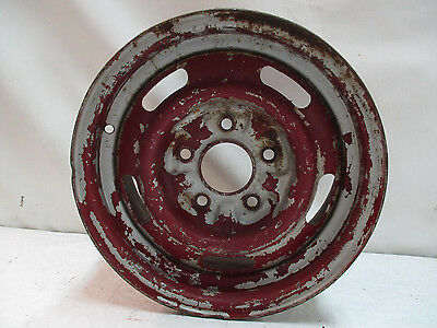 Chevy 14x6 Rally Wheel YW Code Single Spare J11815