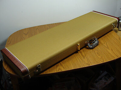 Fender P Jazz Bass Vintage Tweed HARDSHELL CASE Precision Bass