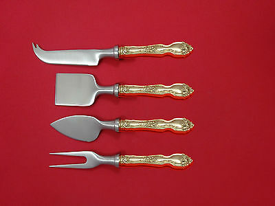 La Reine by Wallace Sterling Silver Cheese Serving Set 4 Piece HHWS  Custom