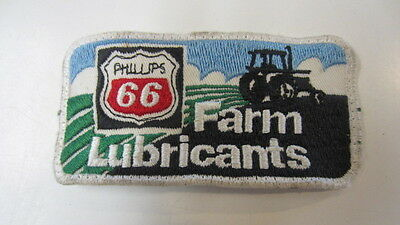 Vintage Phillips 66, Farm Lubricants Embroidery Patch