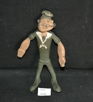 ThriftCHI ~ 1968 King Features Rubber Bendable Popeye Toy