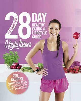 The Bikini Body 28-Day Healthy Eating & Lifestyle Guide by Kayla Itsines Paperba