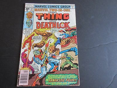 Marvel Two-In-One #27 (May 1977, Marvel) Deathlok!