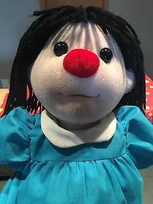 """Molly Doll Big Comfy Couch Plush.1995 Commonwealth. Nice Used Toy Dolly 17"""""""