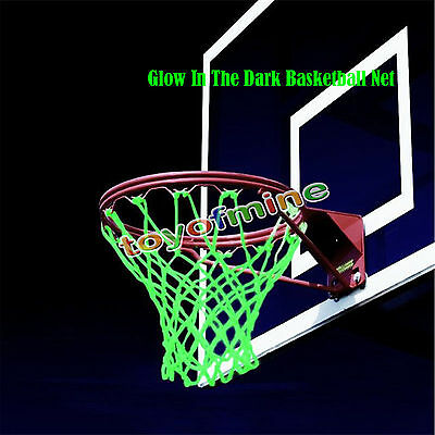 Glow in the Dark Basketball Net a Solar Powered that Fits Any Standard Size NEW