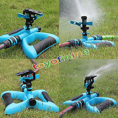 Lawn Sprinkler Garden Plant Yard Rotation Irrigation System Self Watering Spray