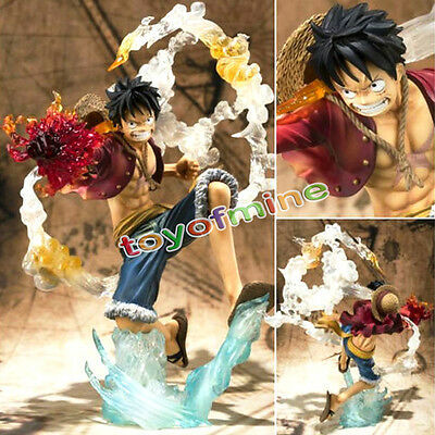 Cool Monkey D Luffy Battle Ver Figure Japan Anime One Piece Loose toy Gift