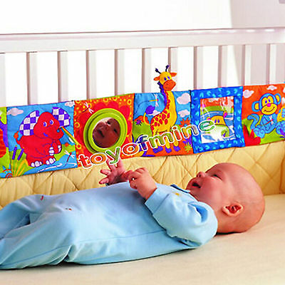Cute Animal Cloth Book Infant Kid Educational Development Bed Cognize Books 1pcs