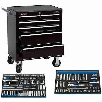 Draper 5 Drawer Roller Garage/Workshop Tool Storage Cabinet/Organiser Kit 85738