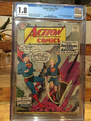Action Comics 252 CGC1.8 1st appearance of SuperGirl and Metallo
