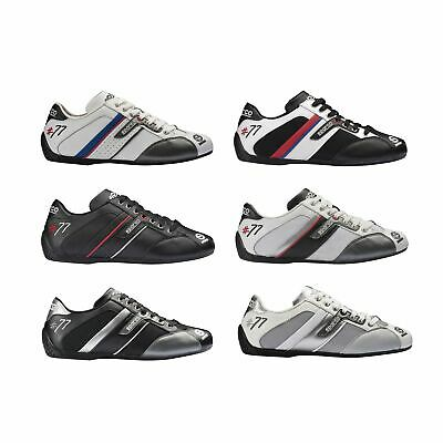 Sparco Time 77 Low Cut Pit/Leisure/Mechanic/Rally/Motorsport Trainers/Shoes