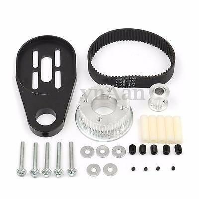 DIY Electric Skateboard Kit Parts Pulleys And Motor Mount For 80MM Wheels New
