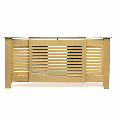 Forest Radiator Cover Cabinet Unfinished Mdf Lined Grill Adjustable Size New