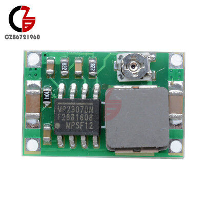 5PCS Super Mini 3A DC-DC Converter Step Down Module Adjustable 3V 5V 16V Power