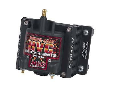 Coil, MSD 6 HVC, must be used with the 6 HVC Professional Ignition