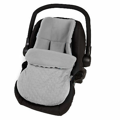 New 4Baby Dimple Grey Universal Baby Car Seat Footmuff Carseat Cosytoes