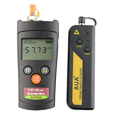 Mini Optical Power Meter -70 ~ +6 dBm Plus 30 Mw Visual Fault Locator VFL Optica