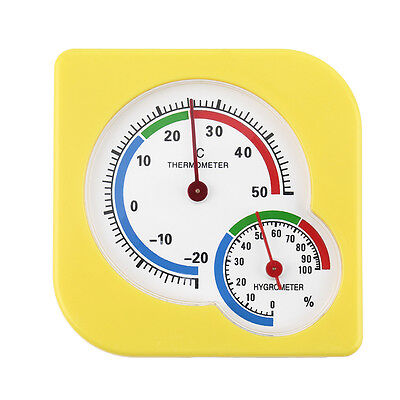 Indoor Outdoor Wet Hygrometer Humidity Thermometer Temp Temperature Meter AG
