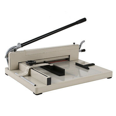 A3 coupe-papier Metal Paper Cutter Trimmer Rogneuse Guillotine 400 feuilles