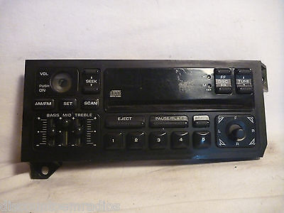 88-00 Dodge Caravan Radio Cd Player Face Plate Replacement P04704373AD ST11